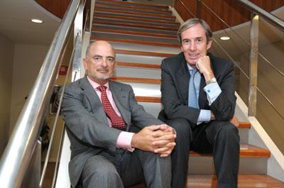 Jaime Castellanos y Antón Serrats