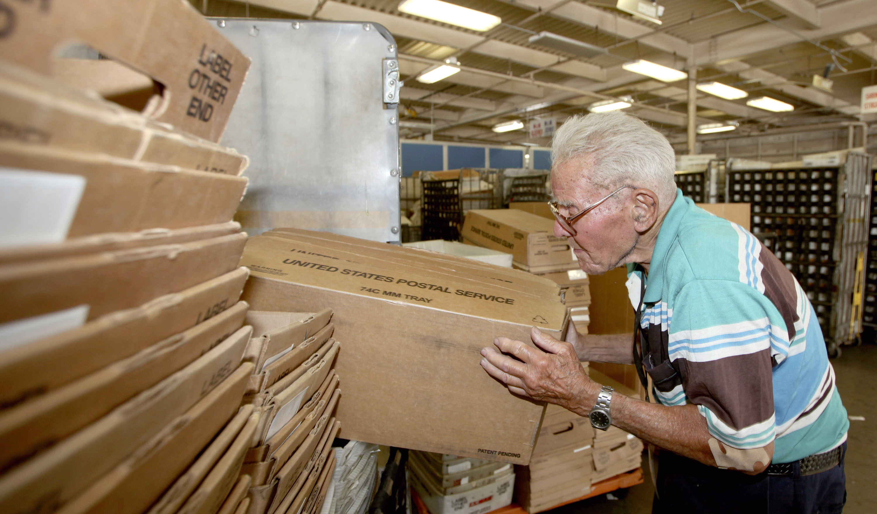 Oldest Postal Worker