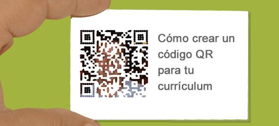 Insterta Código QR en tu curriculum