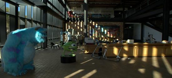 Oficinas cool for Oficinas pixar