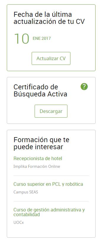 Descarga Tu Certificado De Busqueda Activa De Empleo