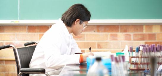 Universitarios con discapacidad