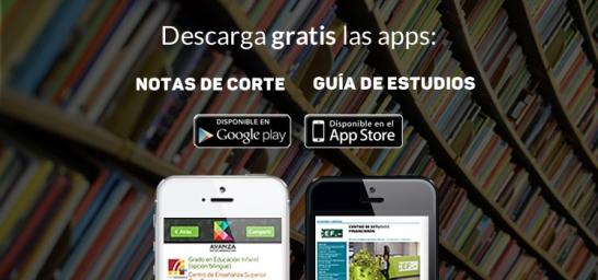 Apps notas de corte universidad y Guía de Estudios