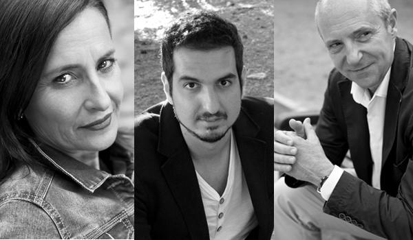 Eva Collado, Guillem Recolons y Fran Segarra