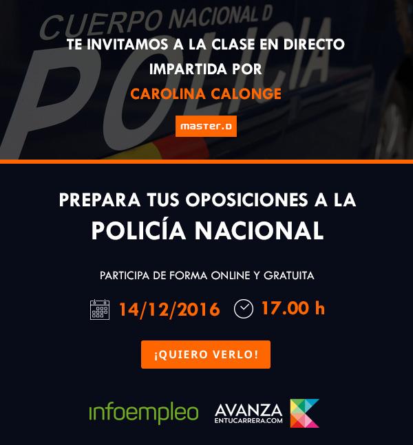¿Quieres ser Policía Nacional? Resolvemos tus preguntas