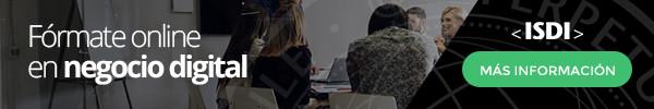 Aprende más sobre el negocio digital con ISDI
