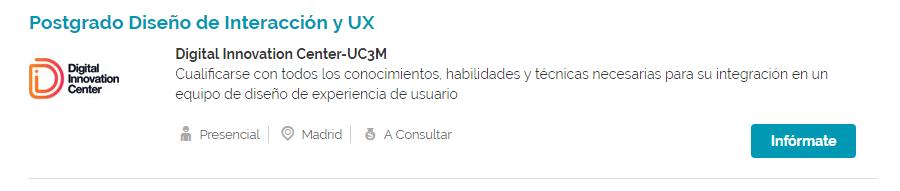 Trabaja como ux Infoempleo