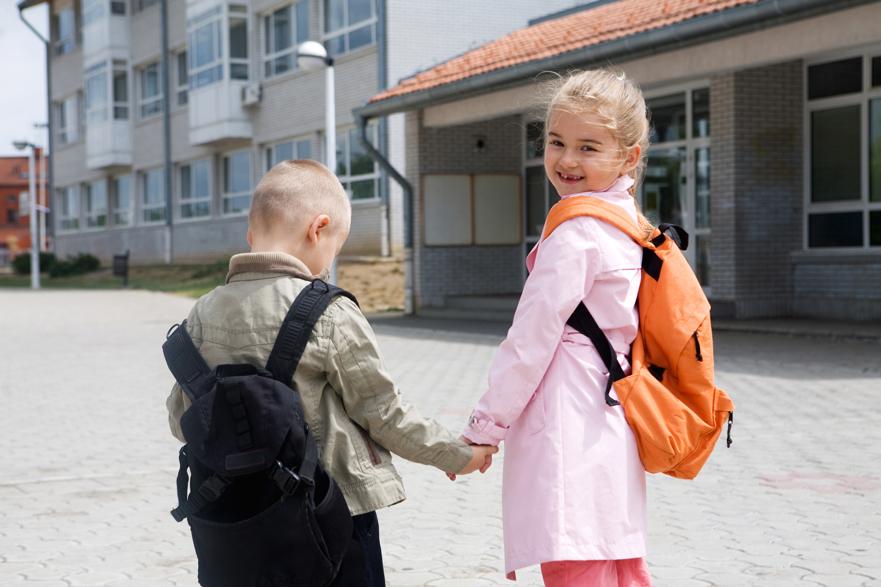 Preparar el primer día de colegio