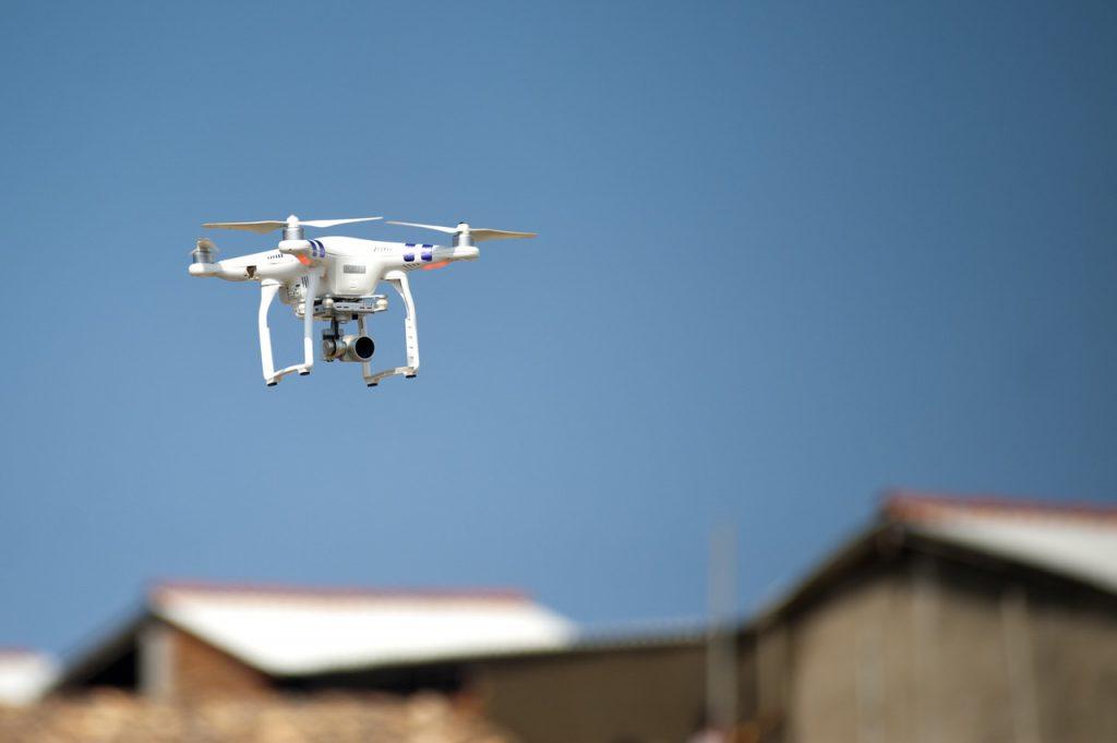 drones trabajar