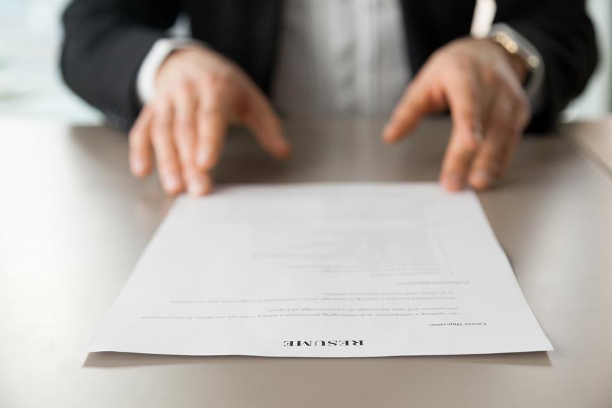 Guía para hacer un CV paso a paso