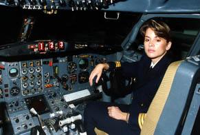 Primera mujer piloto