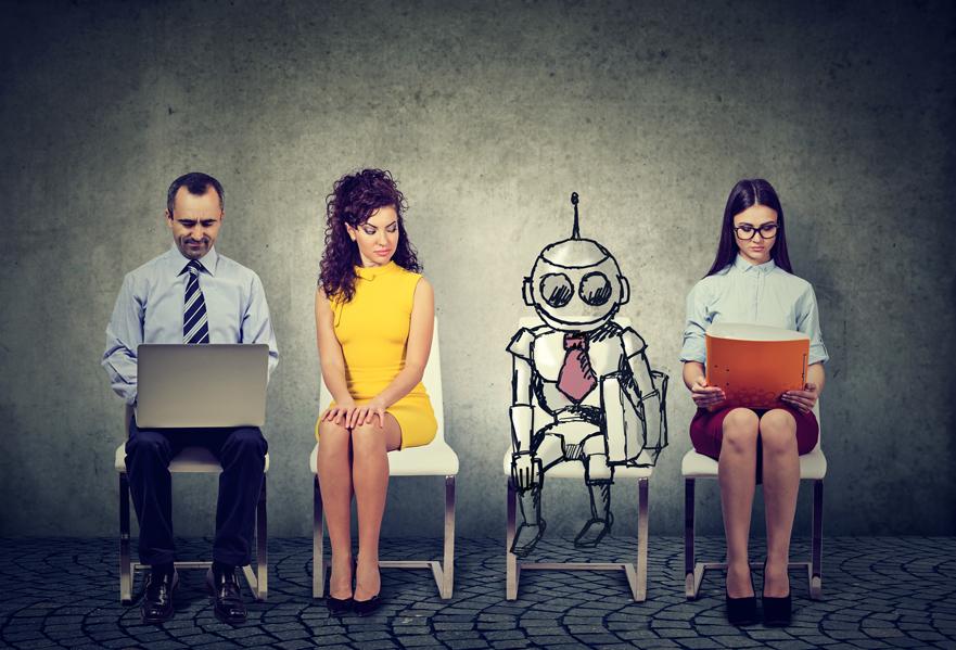 Robots sustituyen al ser humano