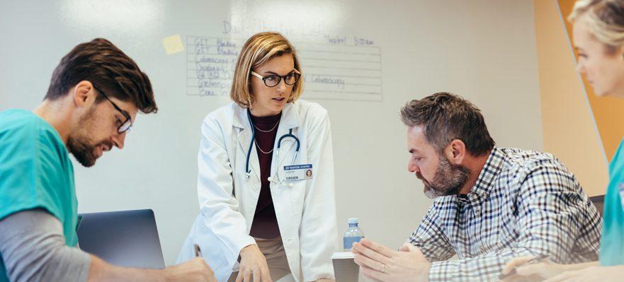 Gerente de centros de salud