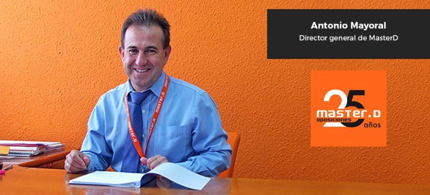 Entrevista a Antonio Mayoral, director general de MasterD