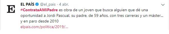 #Contrataamipadre