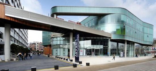 Biblioteca Bangmok, Universidad Myongji / Gansam Architects & Associates