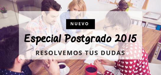 Especial postgrado 2015