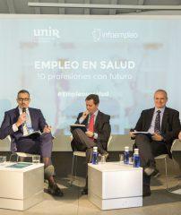 Mesa redonda: Situación de la salud: retos, perspectivas de futuro y empleo en el sector