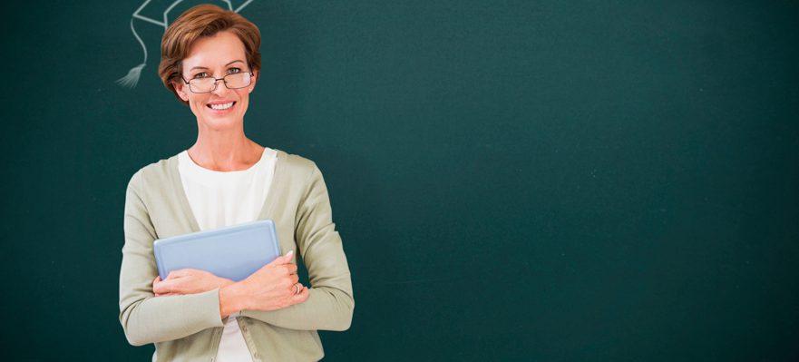 Los profesores a examen