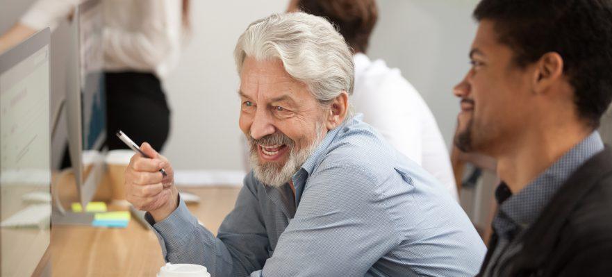 Empleo mayores de 45 años