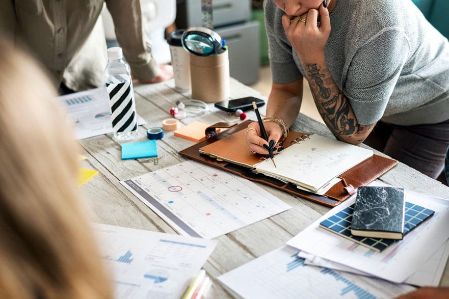 Cómo se demuestran las Competencias de organización y gestión