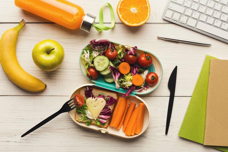 alimentos para rendir más en el trabajo