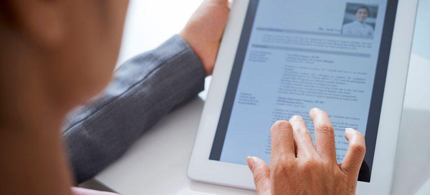 Currículum reclutamiento online