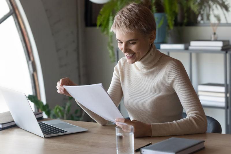 Deja el CV en una página reduciendo el contenido