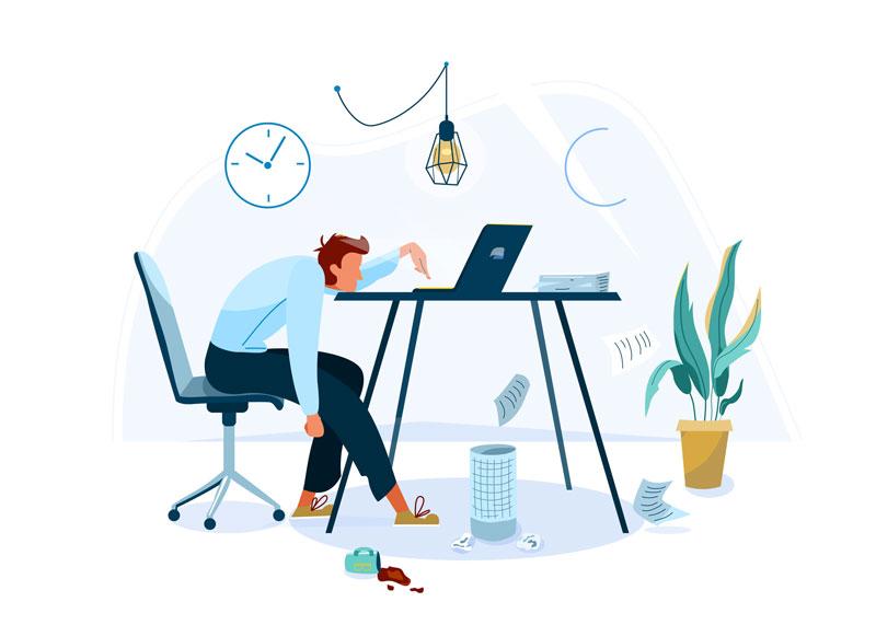 Si no estás en la oficina estás desconectado