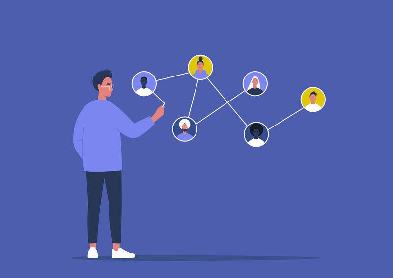 Strategies to nurture your network of online contacts